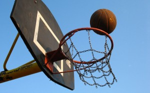 bball and goal The Odds of Playing College Sports